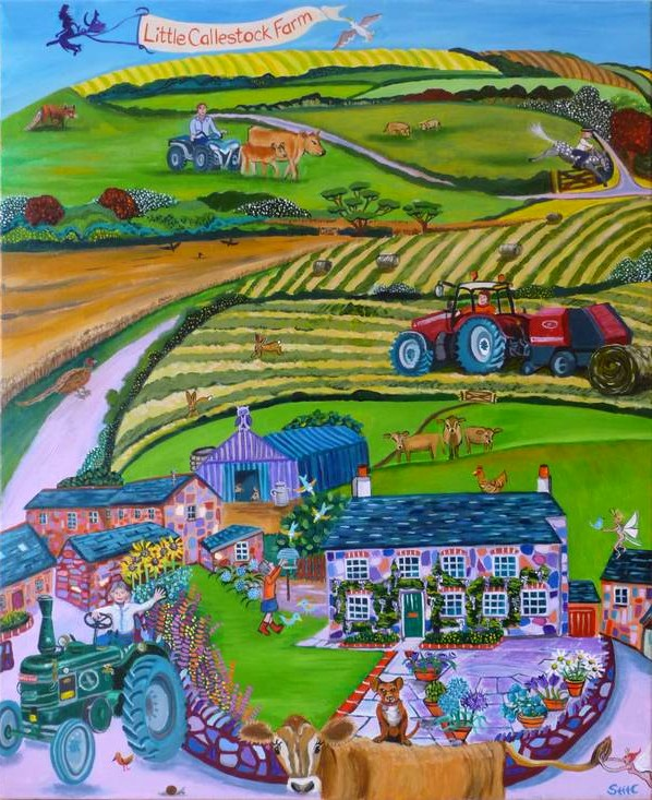 Callestock Farm by Sonia Callaway